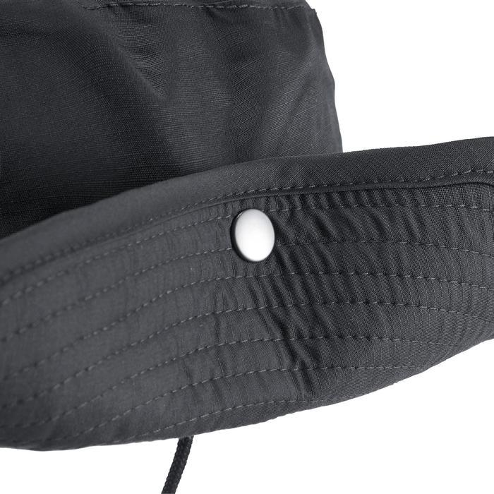 Chapeau de Trekking Montagne TREK 900 imperméable gris foncé - 1331210