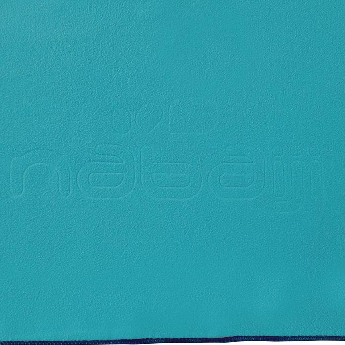 Mikrofaser-Badetuch ultrakompakt XL 110x175cm blau