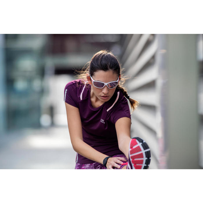 Gafas Sol Running Adulto JSG 500 Blanco Categoría 3