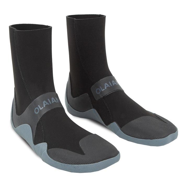 Surflaarsjes 500 neopreen 3 mm zwart