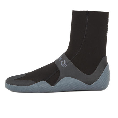 500 3 mm Neoprene Surf Boots - Black