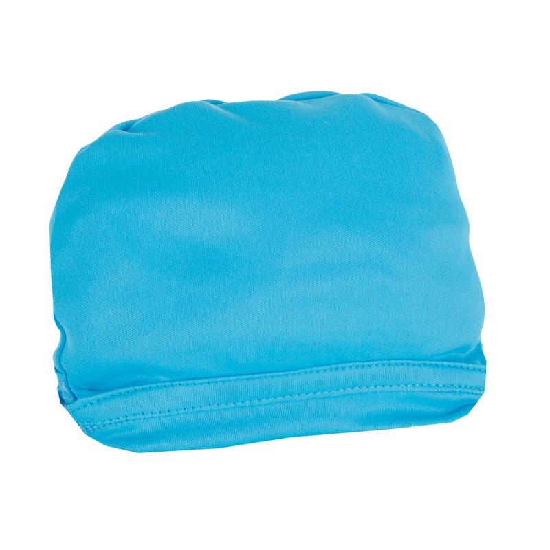 เสื้อยืดแขนสั้นเด็กมีคุณสมบัติป้องกันรังสียูวีสำหรับใส่โต้คลื่น (สีฟ้าพิมพ์ลาย)