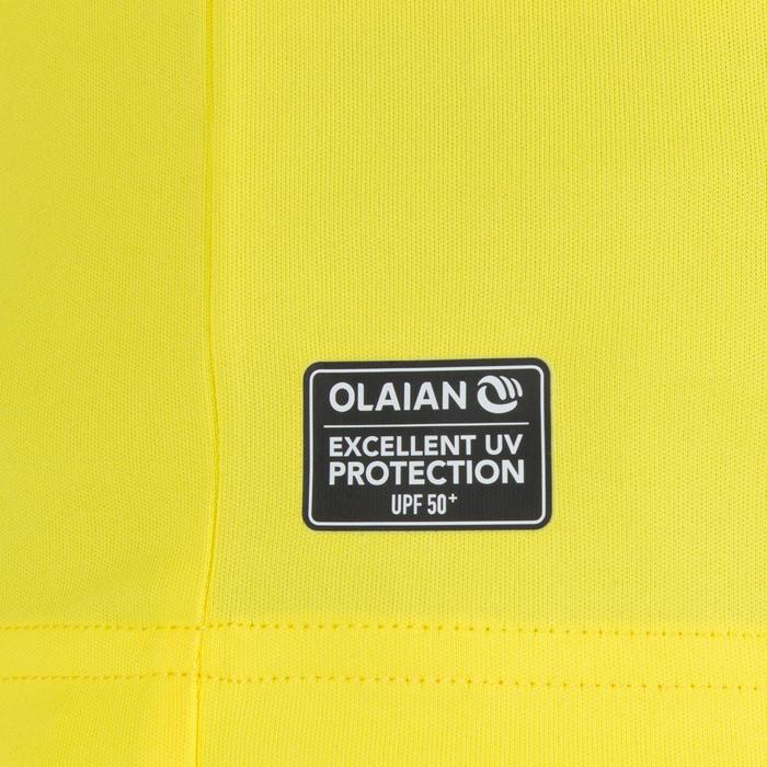 Children's Short Sleeve UV Protection Water T-Shirt - yellow