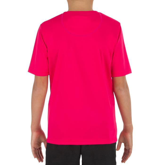 Children's short-sleeved UV-protection surfing water T-shirt - Blue print - 1331308