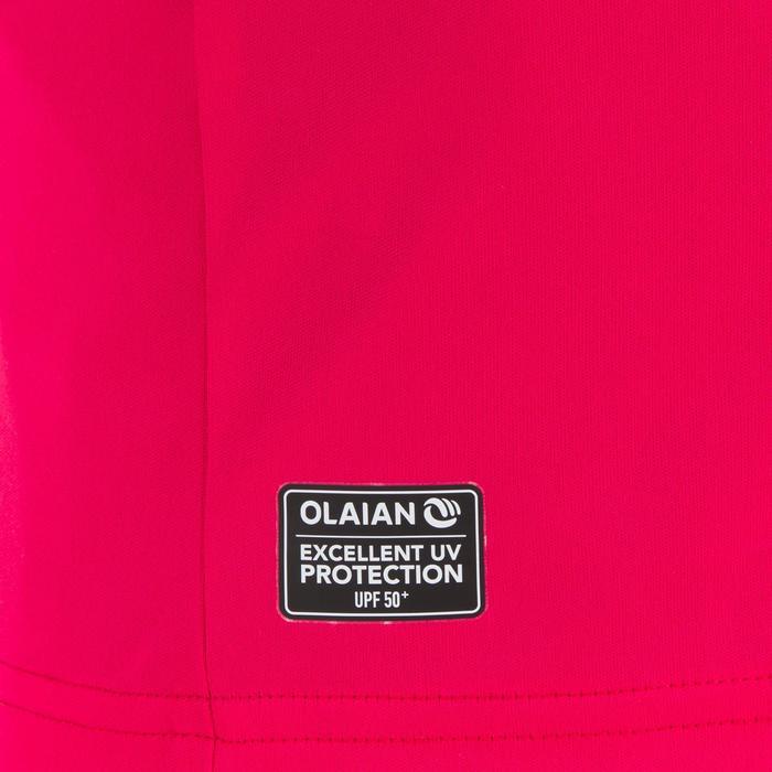 Children's short-sleeved UV-protection surfing water T-shirt - Blue print - 1331313