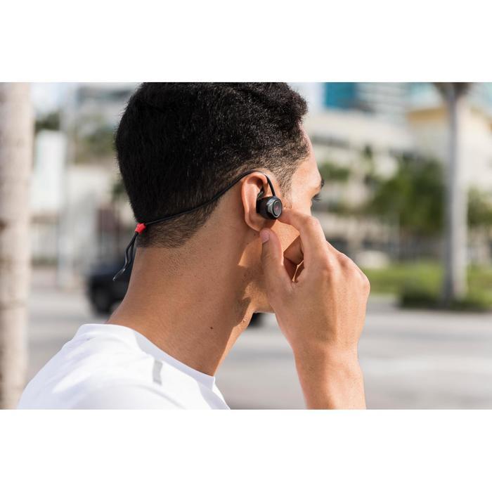 Kopfhörer kabellos Laufen ONear 500 Bluetooth schwarz