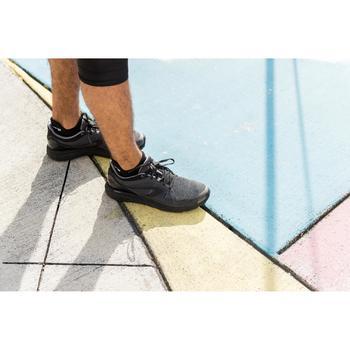 跑步隱形襪COMFORT,兩雙入 - 黑色