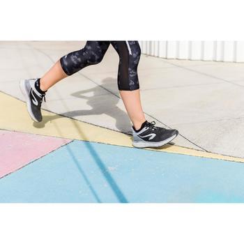 Hardloopsokken onzichtbare comfort zwart x2