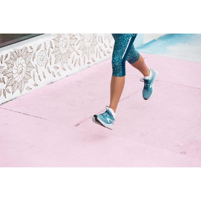 Laufschuhe Run Comfort Damen türkis