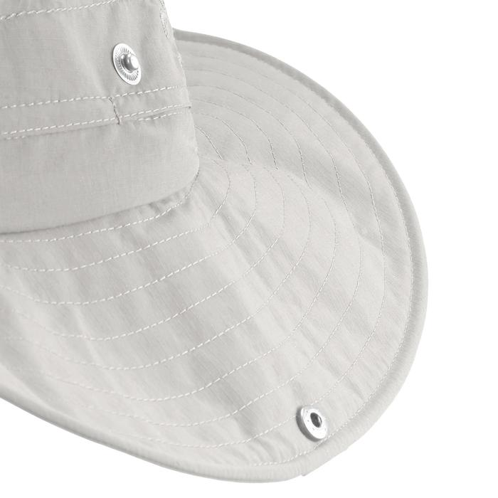 Sombrero de trekking en montaña TREK 500 anti-UV beige