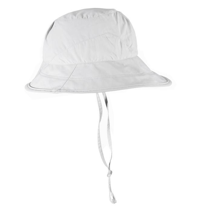 Trek 500 Women's Mountain Trekking Hat - Light Grey