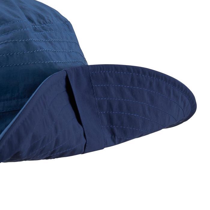 Sombrero de trekking en montaña TREK 500 Anti-UV azul