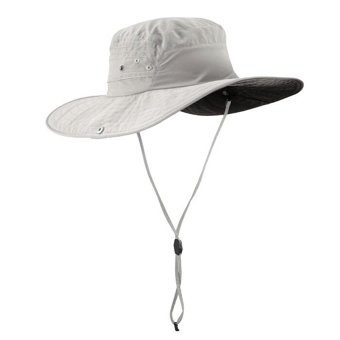 Uv-werende hoed voor bergtochten Trek 500 - 1331379
