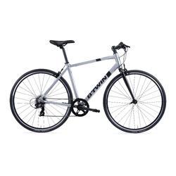 Racefiets voor recreatief fietsen Triban 100 flat bar