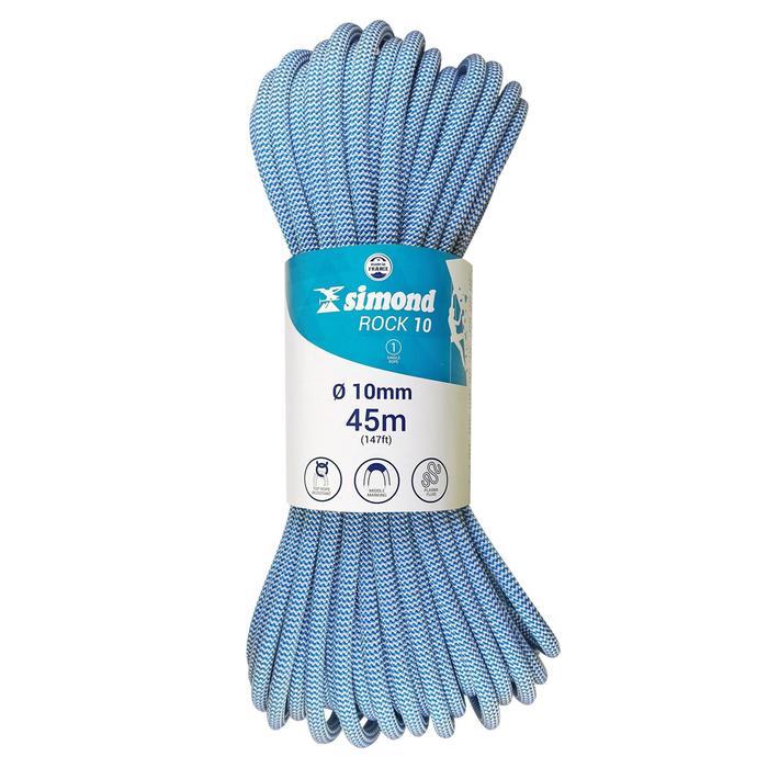 Corde d'escalade Indoor ROCK 10mm x 35m Verte - 1331435
