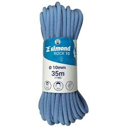 Kletterseil indoor Rock 10 mm x 35 m blau