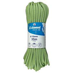 Corde d'escalade Indoor ROCK 10mm x 35m Verte