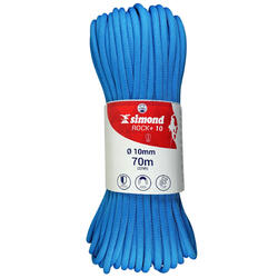 Corde d'escalade ROCK+ 10mm x 70m Bleu