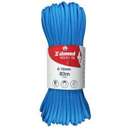 Cuerda de escalada ROCK+ 10 mm x 80 m azul