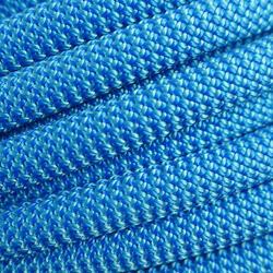 CORDE D'ESCALADE AU MÈTRE 10 mm - ROCK+ Bleu