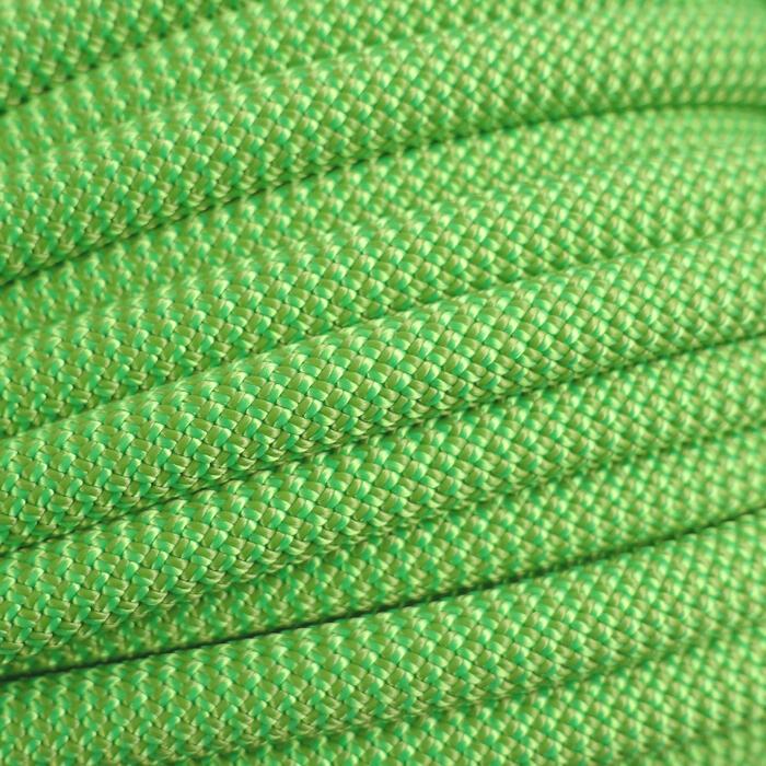 Corde d'escalade CLIFF 9,5mm au métre Verte (Bobine de 100m)