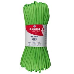 Cliff Climbing Rope - 9.5 x 70 m Green