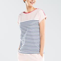 Sailing 100 Women's Short-Sleeved Sailing T-Shirt - Pink CN
