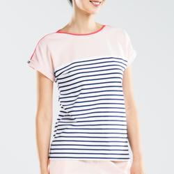 Sailing 100 Women's Short-Sleeved Sailing T-Shirt - Pink CN