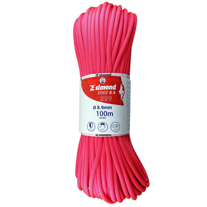 Corde d'escalade EDGE 8.9mm x 80m - 1331469
