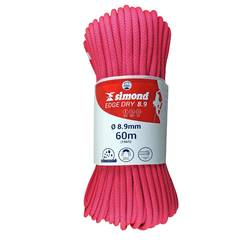 Corde EDGE DRY 8.9mm x 60m rose
