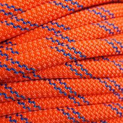 Corde à double d'escalade Rappel 8.6mm x 50m Orange