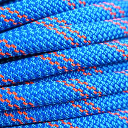 Tali Setengah Abseiling - Biru 8,6 mm x 50 m