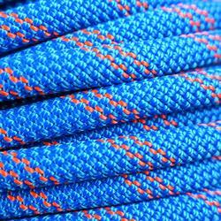 Dubbeltouw voor rappel 8,6 mm x 50 m blauw