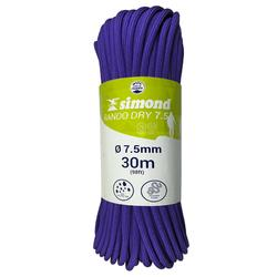 CORDE A DOUBLE DRY 7.5 mm x 3 0m - RANDO DRY violette