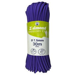 CUERDA RANDO DRY de 7,5 mm x 30 m violeta