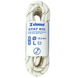 Cuerda semiestática STAT de 10,5 mm x 5 m