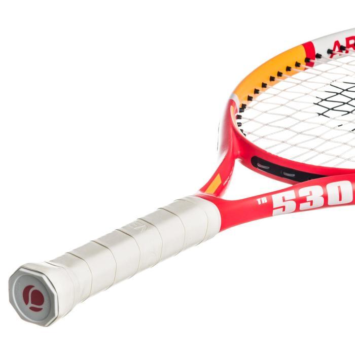"""Tennisschläger TR530 Kinder 23"""" besaitet rosa/orange"""