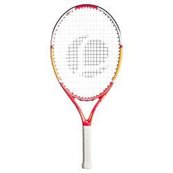 兒童款網球拍TR530 23-粉紅色/橘色