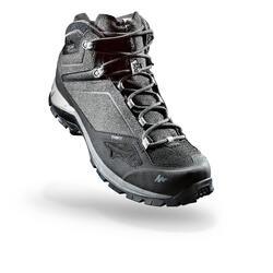 男士中筒防水健行運動鞋 MH500 Mid - 灰色