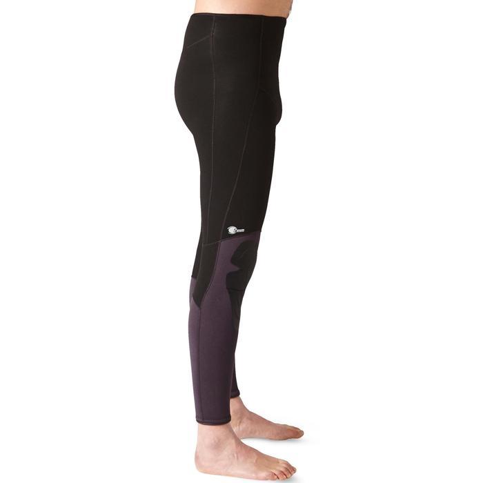 Pantalon Combinaison Chasse sous-marine 5mm Eau temperée Plush - 1331816