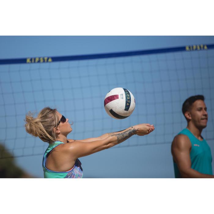 Débardeur de beach-volley femme BV 500 vert - 1331851