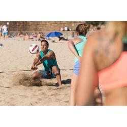 Beachvolleyshort voor heren BV 500 turquoise