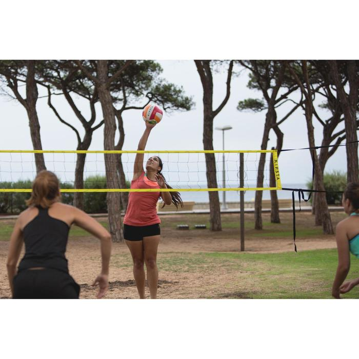 Filet de volley et beach-volley BV100 WIZ NET jaune