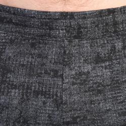 520 Regular-Fit Knee-Length Pilates & Gentle Gym Shorts - Grey