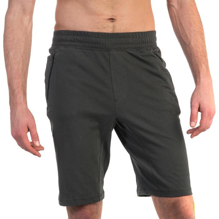 Short 520 slim au dessus du genou Gym & Pilates homme - 1331922