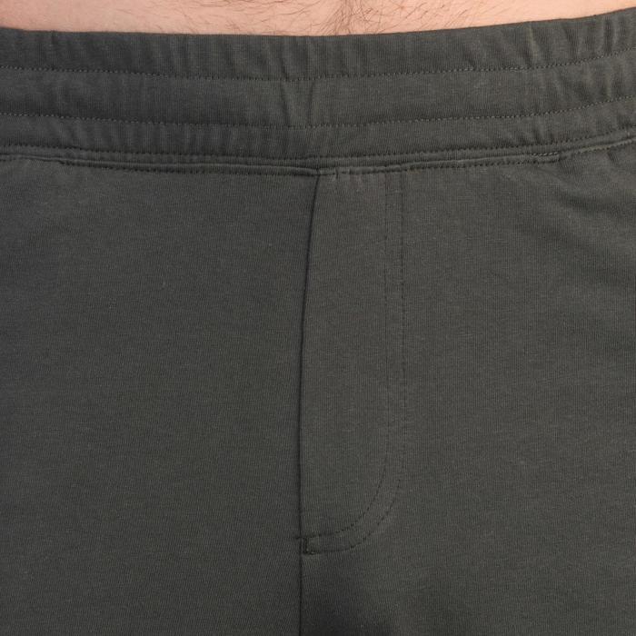 Short 520 slim au dessus du genou Gym Stretching noir homme - 1331929