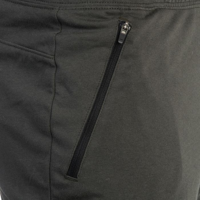 Short 520 slim au dessus du genou Gym Stretching noir homme - 1331931