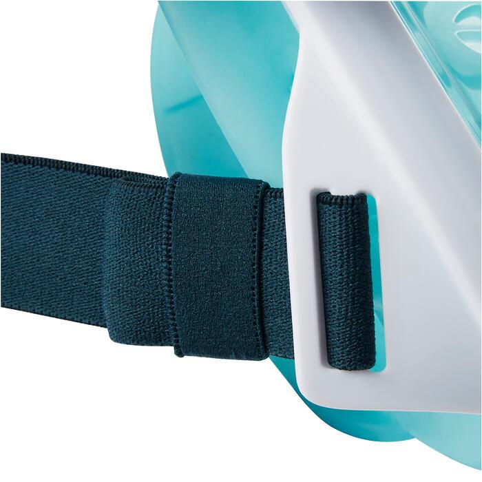 Snorkelmasker Easybreath turquoise (vanaf 10 jaar)