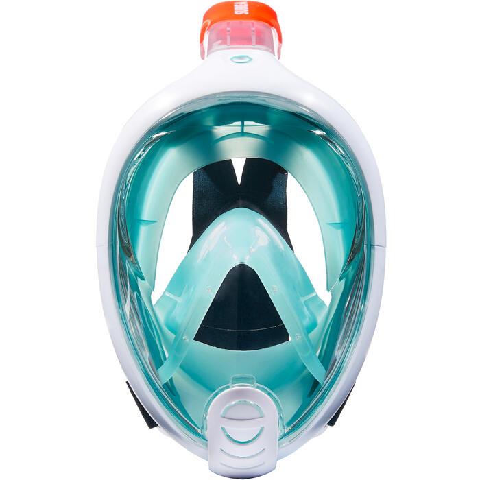 76ff2c1bb Máscara de snorkel en superficie Easybreath azul Subea