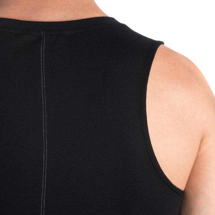 Débardeur 900 slim Gym Stretching & Pilates homme noir - 1331982